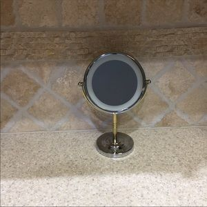 Conair Light Up Pedestal Mirror